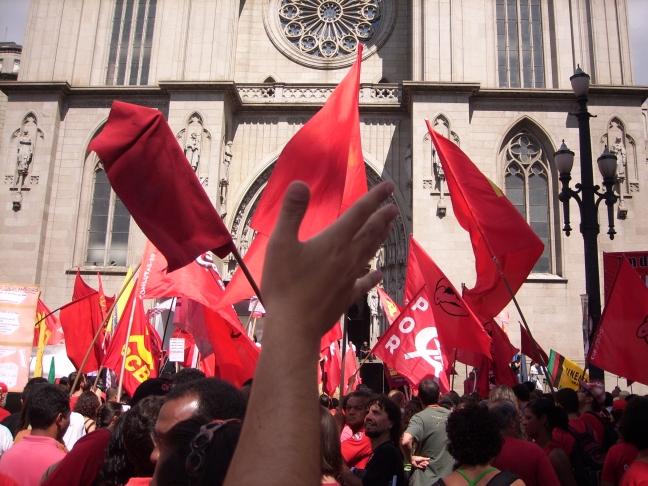 1st of May, Sé Square, São Paulo