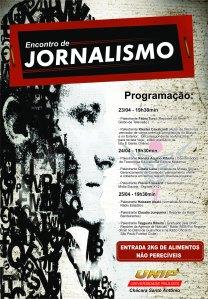 Encontro de Jornalismo - Cartaz
