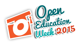 Open Education Week 2015 Logo - Transparent BG
